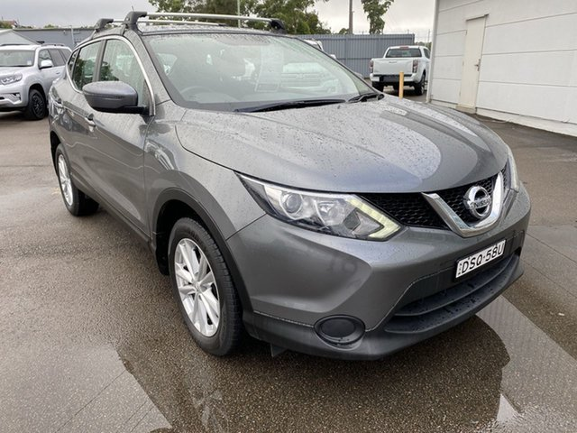 Used Nissan Qashqai J11 ST Cardiff, 2017 Nissan Qashqai J11 ST Grey 6 Speed Manual Wagon