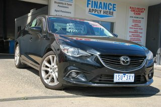 2013 Mazda 6 6C Atenza Black 6 Speed Automatic Sedan.
