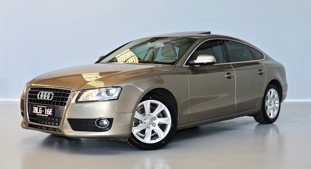 Used Audi A5 8T MY10 Sportback Multitronic Thomastown, 2010 Audi A5 8T MY10 Sportback Multitronic Beige 8 Speed Constant Variable Hatchback