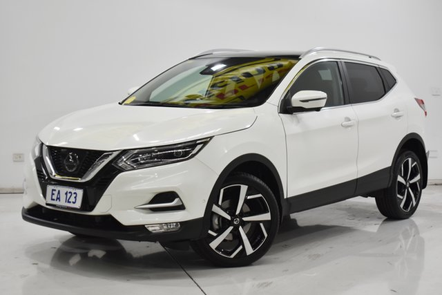 Used Nissan Qashqai J11 Series 2 N-TEC X-tronic Brooklyn, 2018 Nissan Qashqai J11 Series 2 N-TEC X-tronic White 1 Speed Constant Variable Wagon