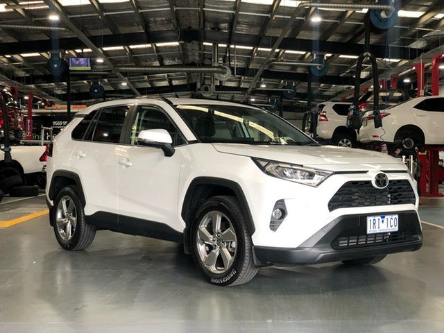 Pre-Owned Toyota RAV4 Mxaa52R GXL 2WD Oakleigh, 2019 Toyota RAV4 Mxaa52R GXL 2WD White 10 Speed Constant Variable Wagon