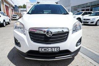 2013 Holden Trax TJ MY14 LTZ White 6 Speed Automatic Wagon
