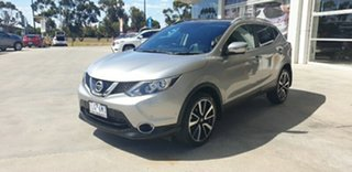 2017 Nissan Qashqai J11 TL Silver 1 Speed Constant Variable Wagon