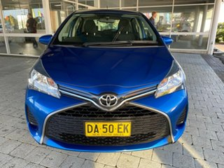 2015 Toyota Yaris NCP131R MY15 SX 5 Speed Manual Hatchback.