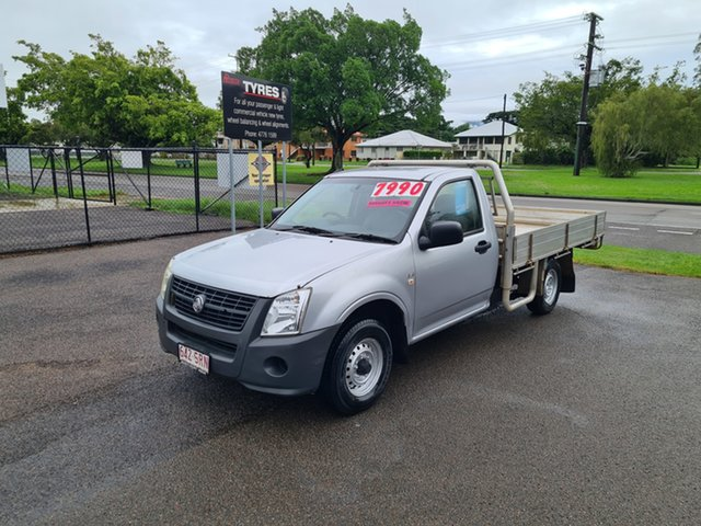 Used Holden Rodeo RA DX Ingham, 2007 Holden Rodeo RA DX Silver 5 Speed Manual Utility