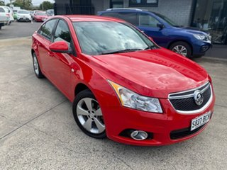 2014 Holden Cruze JH Series II MY14 Equipe Red 6 Speed Sports Automatic Sedan.