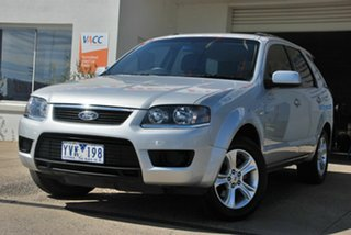 2010 Ford Territory SY MkII TX (4x4) Silver 6 Speed Auto Seq Sportshift Wagon.