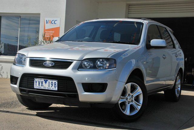 Used Ford Territory SY MkII TX (4x4) Wendouree, 2010 Ford Territory SY MkII TX (4x4) Silver 6 Speed Auto Seq Sportshift Wagon