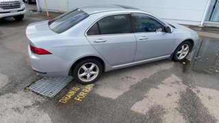 2003 Honda Accord Euro CL Luxury Silver 5 Speed Automatic Sedan