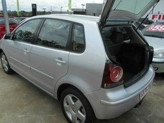 2008 Volkswagen Polo 9N MY2009 Pacific TDI Silver 5 Speed Manual Hatchback