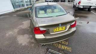 2007 BMW 3 Series E90 323i Steptronic Gold 6 Speed Sports Automatic Sedan.