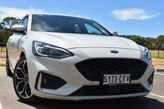 2019 Ford Focus SA 2020.25MY ST-Line White 8 Speed Automatic Hatchback.