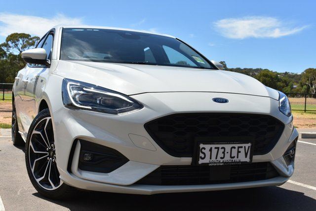 Used Ford Focus SA 2020.25MY ST-Line St Marys, 2019 Ford Focus SA 2020.25MY ST-Line White 8 Speed Automatic Hatchback