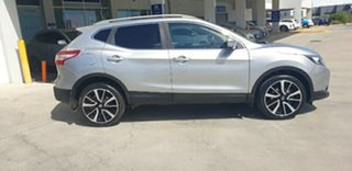 2017 Nissan Qashqai J11 TL Silver 1 Speed Constant Variable Wagon.
