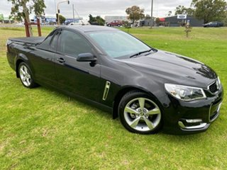 2016 Holden Ute VF II MY16 SV6 Ute Black 6 Speed Sports Automatic Utility.