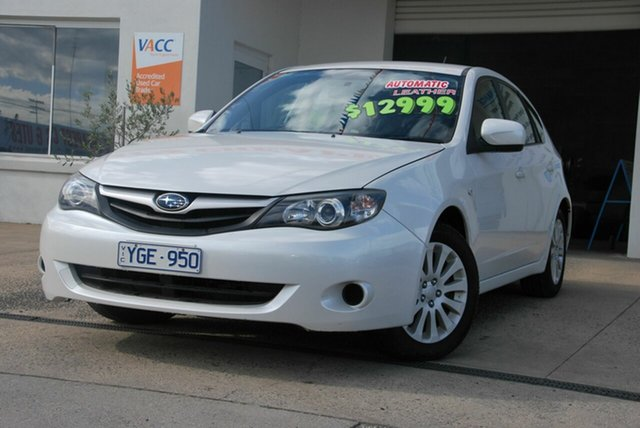 Used Subaru Impreza MY11 R Special Edition (AWD) Wendouree, 2011 Subaru Impreza MY11 R Special Edition (AWD) White 4 Speed Automatic Hatchback