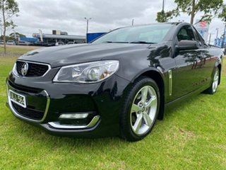2016 Holden Ute VF II MY16 SV6 Ute Black 6 Speed Sports Automatic Utility
