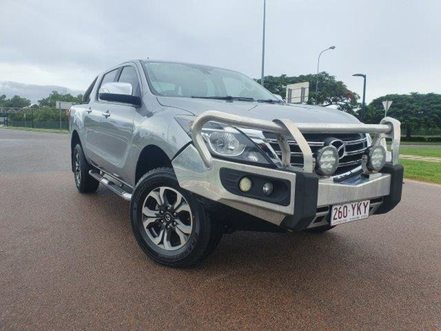 Used Mazda BT-50 UR0YG1 GT Townsville, 2018 Mazda BT-50 UR0YG1 GT Silver 6 Speed Sports Automatic Utility