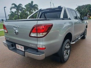 2018 Mazda BT-50 UR0YG1 GT Silver 6 Speed Sports Automatic Utility.