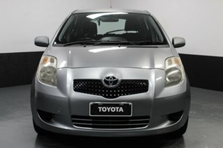 2008 Toyota Yaris NCP91R YRS Silver, Chrome 5 Speed Manual Hatchback.