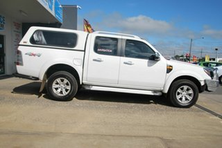 2010 Ford Ranger PK Wildtrak (4x4) White 5 Speed Automatic Dual Cab Pick-up