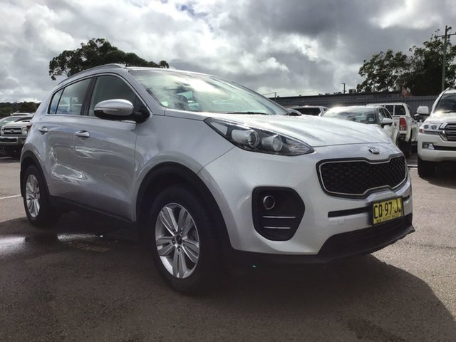 Pre-Owned Kia Sportage QL MY18 Si 2WD Cardiff, 2018 Kia Sportage QL MY18 Si 2WD Silver 6 Speed Sports Automatic Wagon