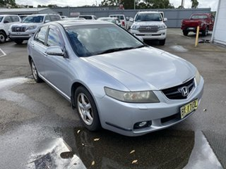 2003 Honda Accord Euro CL Luxury Silver 5 Speed Automatic Sedan.
