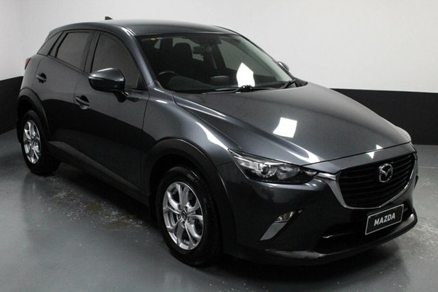 Used Mazda CX-3 DK2W7A Maxx SKYACTIV-Drive Cardiff, 2015 Mazda CX-3 DK2W7A Maxx SKYACTIV-Drive Grey 6 Speed Sports Automatic Wagon