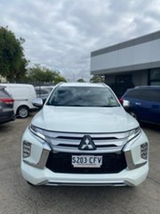 2020 Mitsubishi Pajero Sport QF MY20 Exceed White 8 Speed Sports Automatic Wagon.
