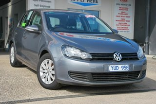 2012 Volkswagen Golf 1K MY12 90 TSI Trendline Grey 7 Speed Auto Direct Shift Hatchback.