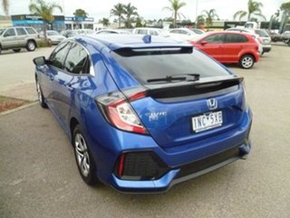 2018 Honda Civic 10th Gen MY18 VTi Blue 1 Speed Constant Variable Hatchback