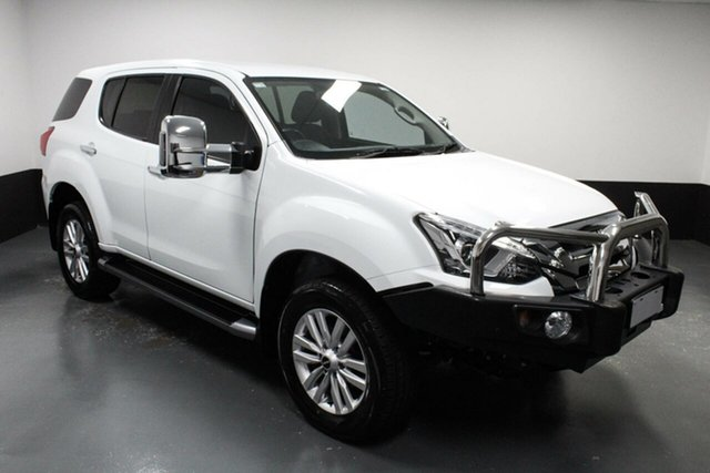 Used Isuzu MU-X MY18 LS-U Rev-Tronic Cardiff, 2018 Isuzu MU-X MY18 LS-U Rev-Tronic White 6 Speed Sports Automatic Wagon