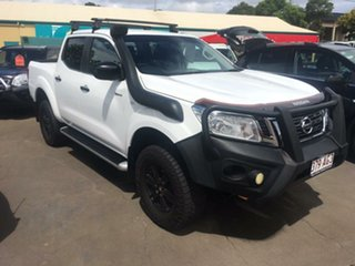 2016 Nissan Navara D23 Series II SL Queenslander White 7 Speed Automatic Dual Cab Utility.