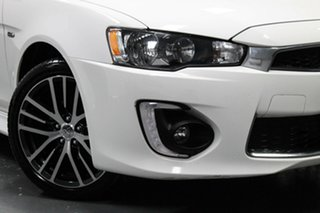 2017 Mitsubishi Lancer CF MY17 LS White 6 Speed Constant Variable Sedan.