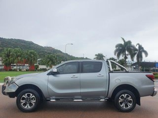 2018 Mazda BT-50 UR0YG1 GT Silver 6 Speed Sports Automatic Utility