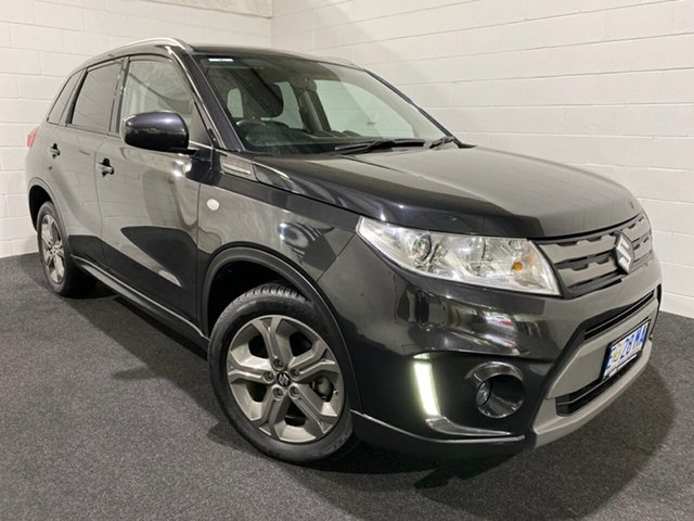 Used Suzuki Vitara LY RT-S 2WD Glenorchy, 2016 Suzuki Vitara LY RT-S 2WD Black 6 Speed Sports Automatic Wagon