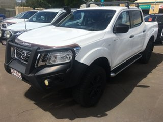 2016 Nissan Navara D23 Series II SL Queenslander White 7 Speed Automatic Dual Cab Utility