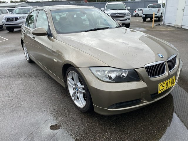 Used BMW 3 Series E90 323i Steptronic Cardiff, 2007 BMW 3 Series E90 323i Steptronic Gold 6 Speed Sports Automatic Sedan