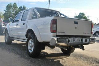 2010 Nissan Navara D22 MY08 ST-R (4x4) White 5 Speed Manual Dual Cab Pick-up