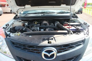 2014 Mazda BT-50 UP0YD1 XT 4x2 White Nova 6 Speed Manual Cab Chassis