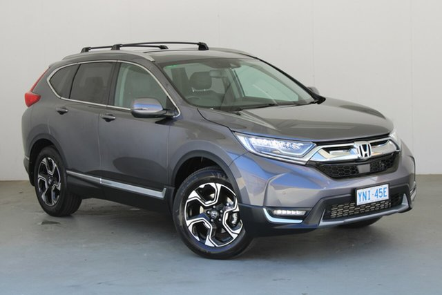 Used Honda CR-V RW MY20 VTi-LX 4WD Phillip, 2019 Honda CR-V RW MY20 VTi-LX 4WD Modern Steel 1 Speed Constant Variable Wagon