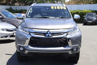 2018 Mitsubishi Pajero Sport QE MY18 Exceed Silver 8 Speed Sports Automatic Wagon.