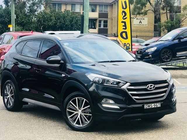 Used Hyundai Tucson TL MY18 Active X 2WD Liverpool, 2017 Hyundai Tucson TL MY18 Active X 2WD Black 6 Speed Sports Automatic Wagon