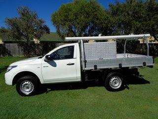 2015 Mitsubishi Triton MN MY15 GLX 4x2 White 5 Speed Manual Cab Chassis