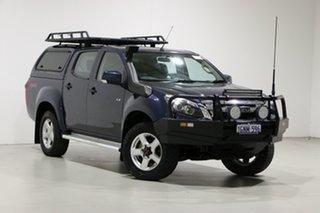 2014 Isuzu D-MAX TF MY14 LS-M HI-Ride (4x4) Blue 5 Speed Automatic Crew Cab Utility.