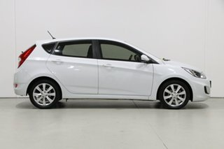 2018 Hyundai Accent RB6 MY18 Sport White 6 Speed Automatic Hatchback