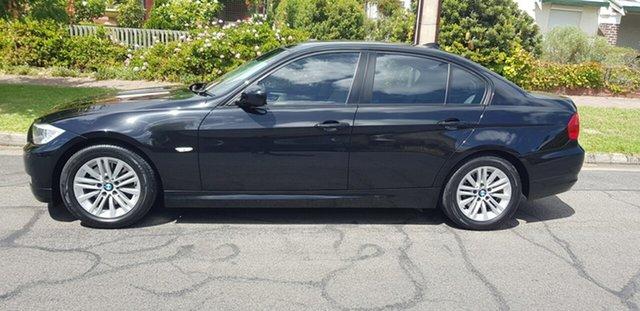 Used BMW 320d E90 MY09 Executive Prospect, 2009 BMW 320d E90 MY09 Executive Black 6 Speed Auto Steptronic Sedan
