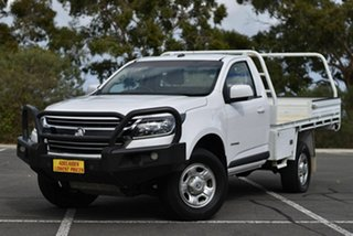 2018 Holden Colorado RG MY18 LS 4x2 White 6 Speed Sports Automatic Cab Chassis.