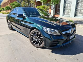2019 Mercedes-Benz C-Class W205 800MY C43 AMG 9G-Tronic 4MATIC Green 9 Speed Sports Automatic Sedan.