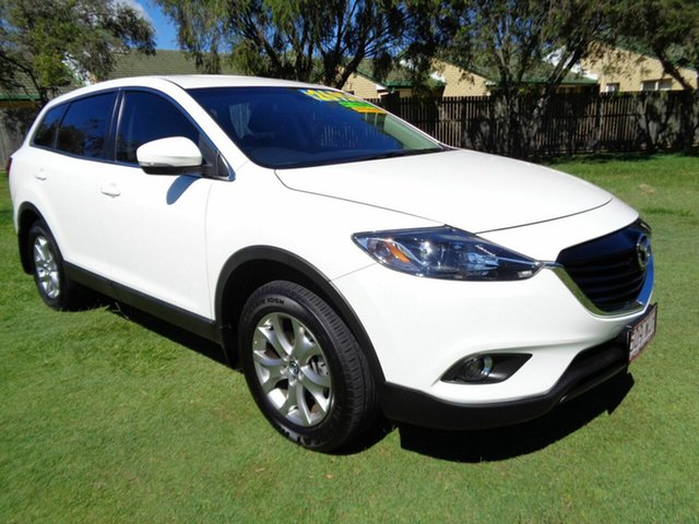 Used Mazda CX-9 TB10A5 Classic Activematic Kippa-Ring, 2015 Mazda CX-9 TB10A5 Classic Activematic White 6 Speed Sports Automatic Wagon